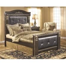 B175 Coal Creek Queen UPH Mansion Bed
