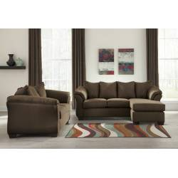 75004 Darcy 2PC Sets (Sofa Chaise + Loveseat)