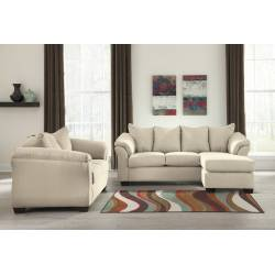 75000 Darcy 2PC Sets (Sofa Chaise+ Loveseat)