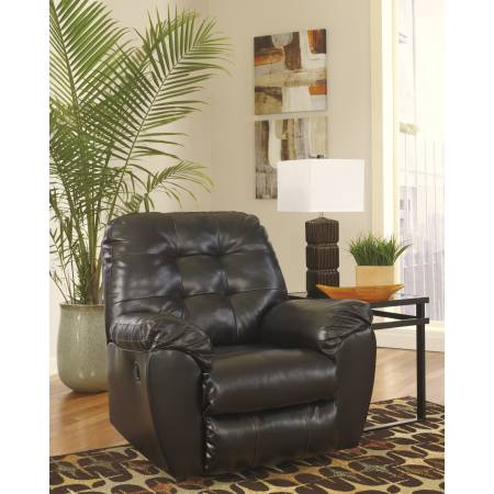 20101 Alliston DuraBlend® Rocker Recliner Chocolate