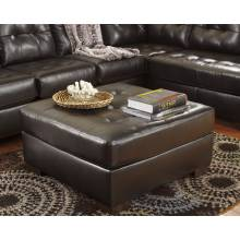20101 Alliston DuraBlend® Oversized Accent Ottoman Chocolate