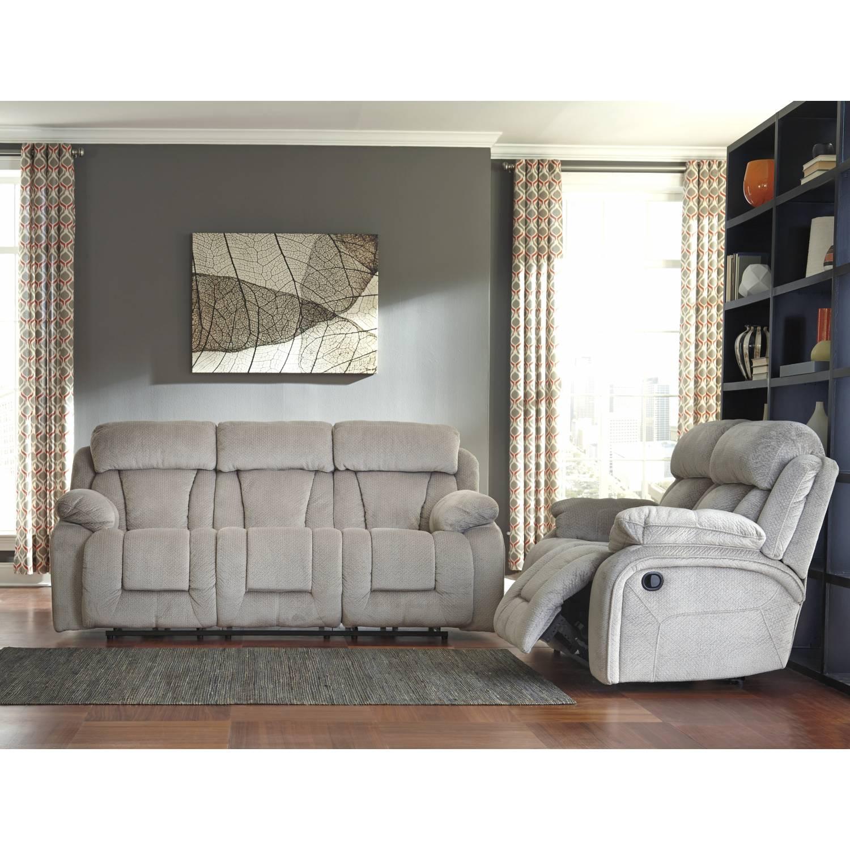 86504 Stricklin 2pc Sets Power Sofa Power Loveseat Pebble