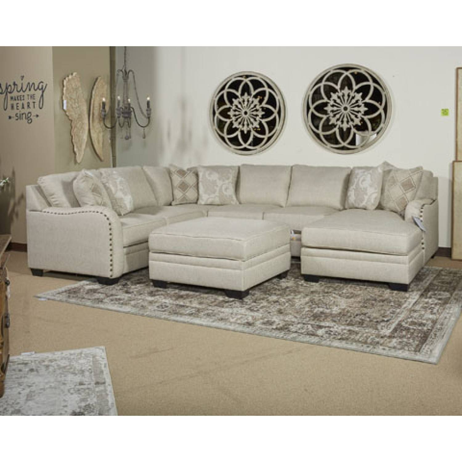 Labor Day Furniture Sale >> 52501 Luxora Ottoman With Storage