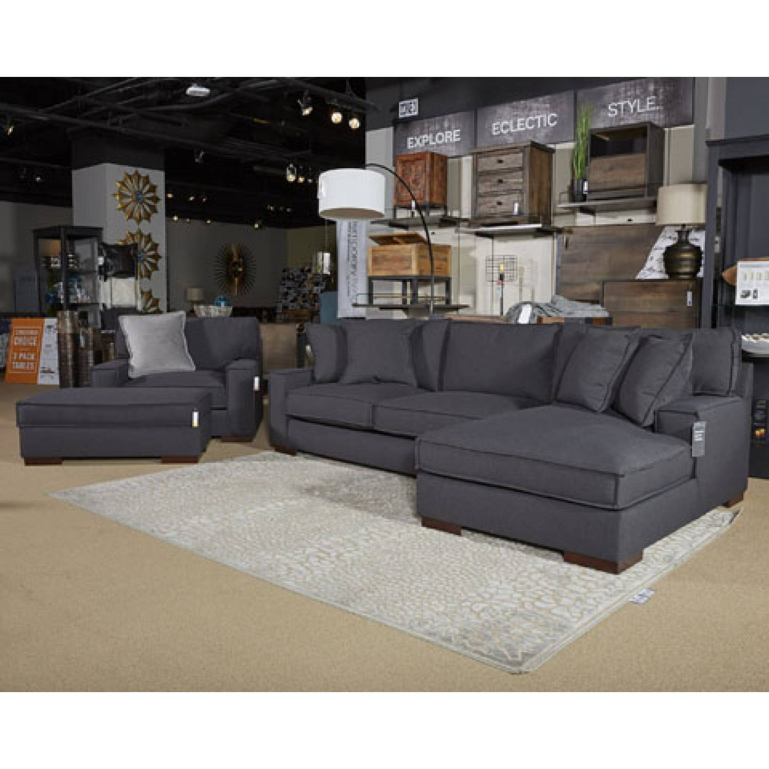 Ashley Furniture Gallery: 45501 Gamaliel Ottoman With Storage