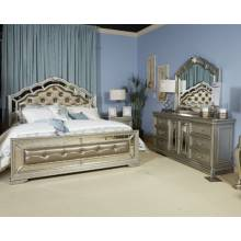 B720 Birlanny King Upholstered Bed