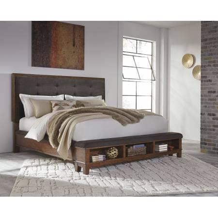 B594 Ralene King Upholstered Bed