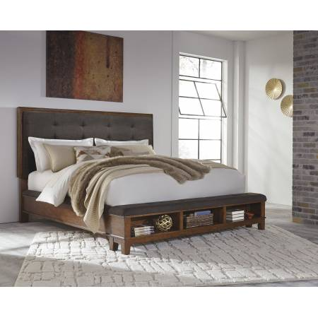 B594 Ralene Queen Upholstered Bed