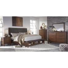 B594 Ralene Queen Upholstered Bedroom Sets 4 Piece