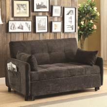 Futons Dark Brown Sofa Bed