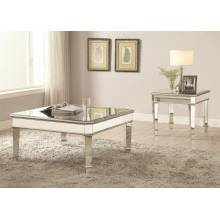 70393 Mirrored Coffee Table