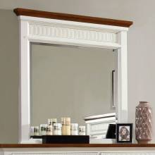GALESBURG Mirror - White & Oak
