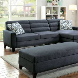 JENSEN SECTIONAL Dark Gray Finish