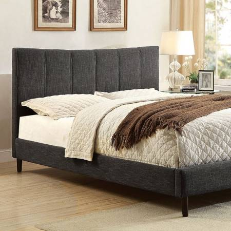 ENNIS FULL BED DARK GRAY FINISH