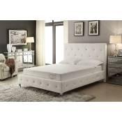 ALOE VERA California King 8-Inch Memory Foam Mattress