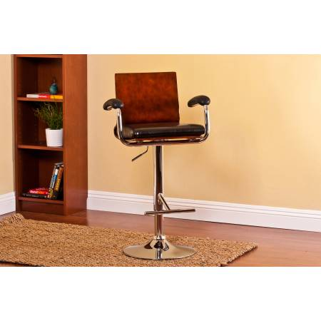 ACBS17 ADJUSTABLE HEIGHT SWIVEL BAR STOOL WITH CUSHION