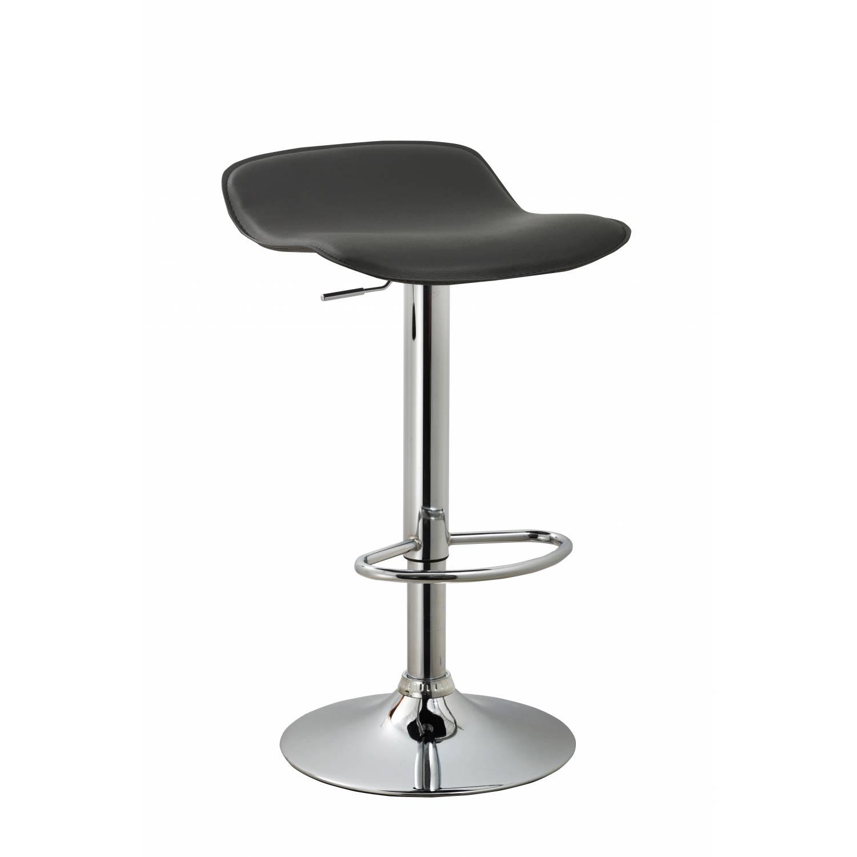 Remarkable Acbs11 Black Adjustable Swivel Barstool Set Of 2 Uwap Interior Chair Design Uwaporg