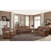KINGSTON TOBACCO RECLINING LOVESEAT WITH CONSOLE