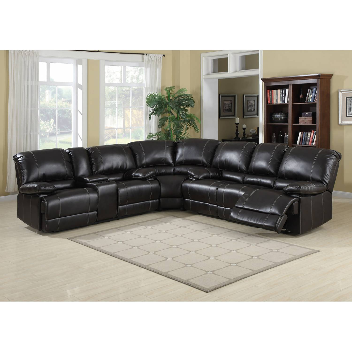 Cool Kevin Cocoa Faux Leather Reclining Loveseat Machost Co Dining Chair Design Ideas Machostcouk