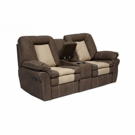 CARSON DUAL RECLINING LOVESEAT WITH CONSOLE