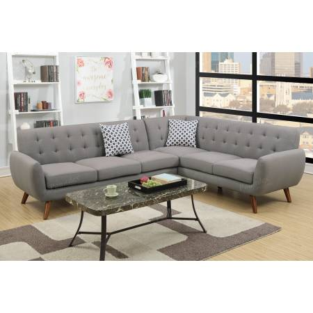 2-Pcs Sectional Sofa F6961