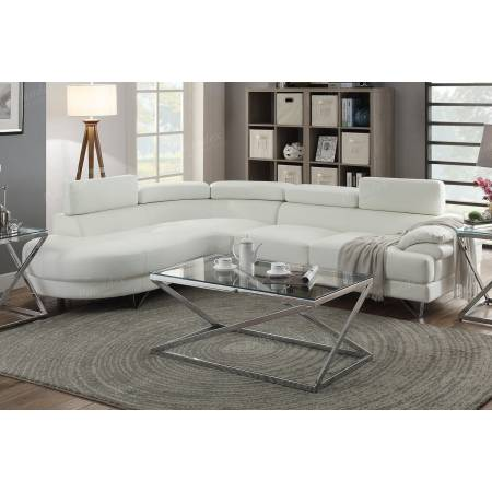 2-Pcs Sectional Sofa F6985