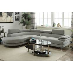 2-Pcs Sectional Sofa F6984