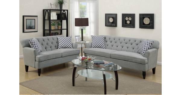 2 Pcs Sofa Set F6940