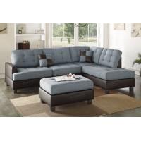 3-Pcs Sectional Sofa F6858