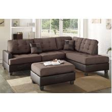 3-Pcs Sectional Sofa F6857