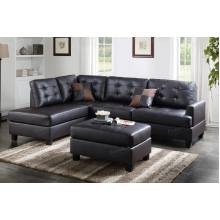3-Pcs Sectional Sofa F6855