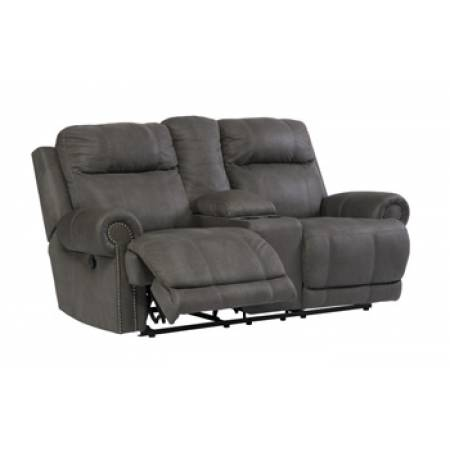 38401 Austere DBL REC PWR Loveseat w/Console
