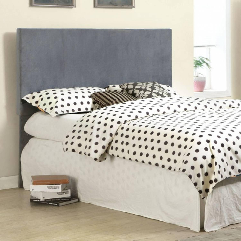 winn park ii headboard gray fabric queen beds