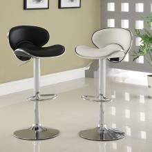 KOSSI BAR STOOL WHITE