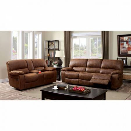 WAGNER 2 Pc. Set SOFA + LOVE SEAT W/ LEATHERETTE