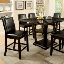 CLAYTON II COUNTER HT. TABLE 7 Pc. Set CM3933PT-GROUP