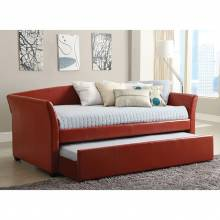 Delmar Day Bed w/ Trundle Red