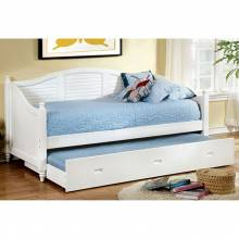 Bel Air Day Bed w/ Trundle White