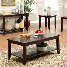 TOWNSEND III 3 Pc Set w/ Mosaic-insert (Coffee Table + 2 End Tables) CM4669-3PK