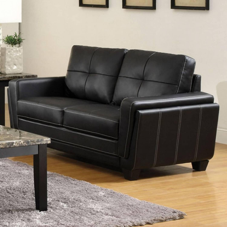 Blacksburg sofa 2 pc set sofa love seat for Furniture of america address