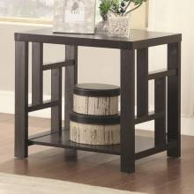 70353 End Table with Window Pane Design