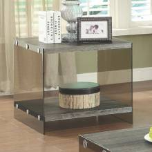 70196 End Table w/ Glass Sides