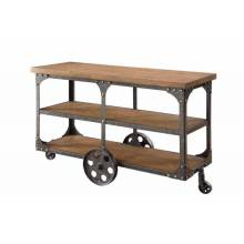 70112 Sofa Table with 2 Shelves