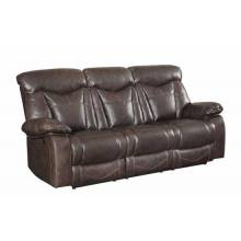 Zimmerman Reclining Sofa with Pillow Arms