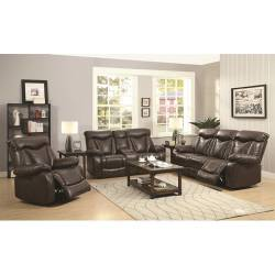Zimmerman Power Reclining Sofa + LOVE SEAT with Pillow Arms 2PC