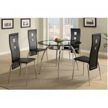 Dining Table F2211 and 4 Side Chair