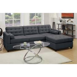 F7587 2-Pcs Sectional Sofa