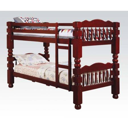 02570 4.5 POST TWIN/TWIN BUNK BED