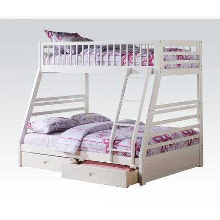 37040 T/F BUNKBED W/2 DRAWERS