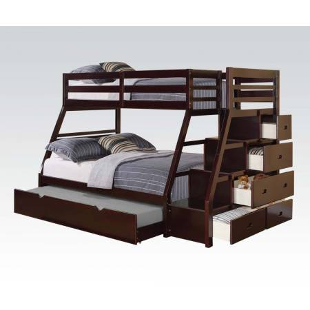 37015 TWIN/FULL BUNKBED/LADDER/TRUND