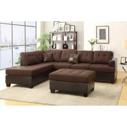 3-Pcs Sectional Set F7602